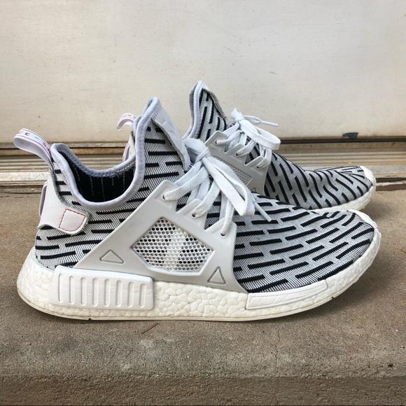 adidas schuhe nmd xr1 pk sz 12 zebra poshmark